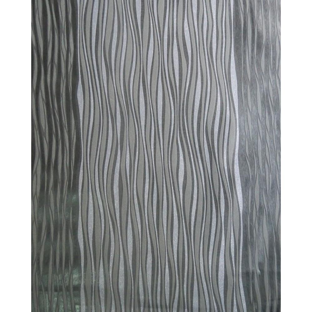 Grey Patterned Wallpaper Bel02010